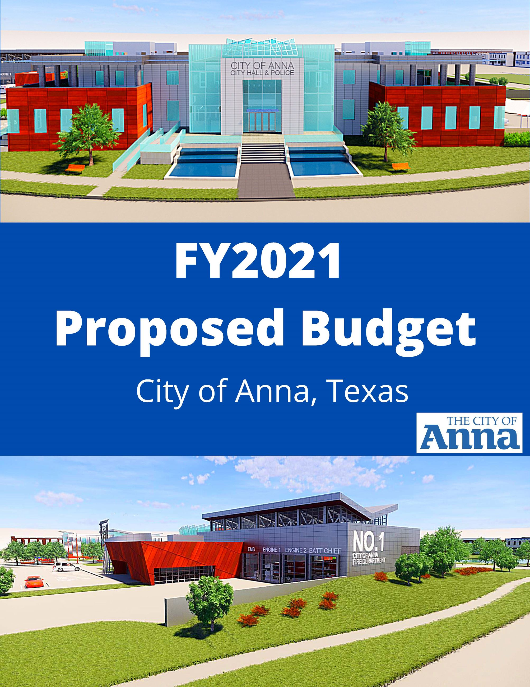 FY2021 City of Anna Proposed Budget (002) 1