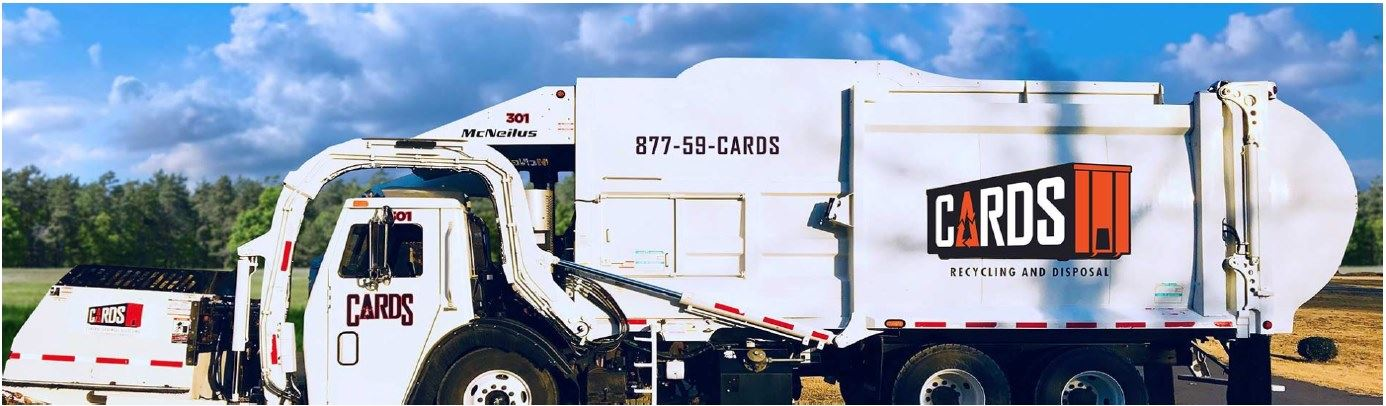 Cards Recycling and Disposal Truck