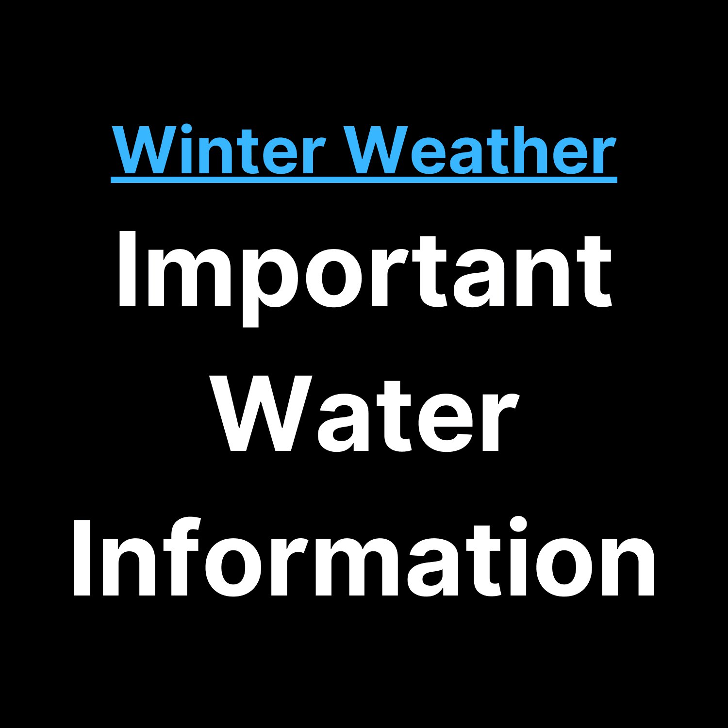 Water Information Image